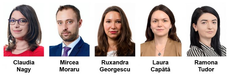 Promotions in the CMS Romania team